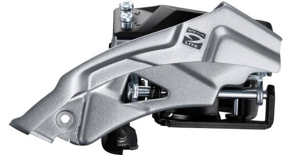 Shimano Altus FD-M2000 Przerzutka przednia 3x9 biegów Top Swing, obejma, głęboko osadzona czarny/srebrny